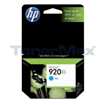 HP NO 920XL INK CYAN 